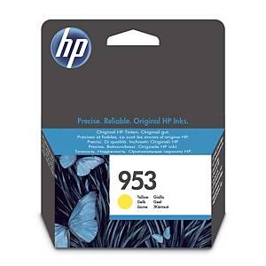 Blækpatron HP 953 F6U14AE, 700 sider, gul