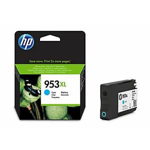 HP 953XL (F6U16AE) inkt cartridge, cyaan, hoge capaciteit