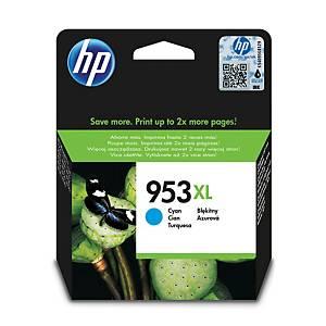 HP tintasugaras nyomtató patron 953XL (F6U16AE) ciánkék