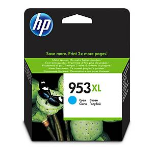 CARTUCHO DE TINTA INK HP 953XL CIAN F6U16AE
