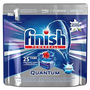 Geschirrspül-Tabs Finish Quantum, Packung à 25 Stück, Produktspezifischer Duft
