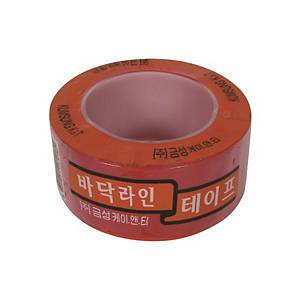 GEUMSUNG FLOOR MARKING TAPE RED