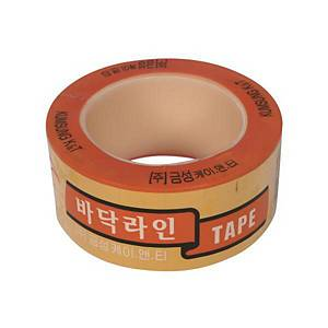 GEUMSUNG FLOOR MARKING TAPE YELLOW