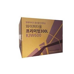 광진 세이플러스 세이테크 프리미엄 와이퍼 KJW600 6겹 360X430mm 300매