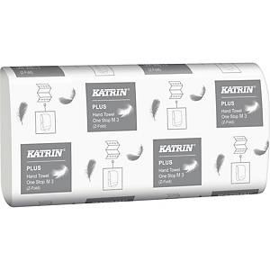 Håndklædeark Katrin 344010 Plus L3 One stop, karton a 21 x 90 ark