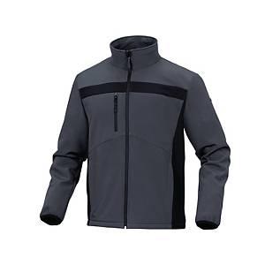 Veste Softshell Deltaplus Lulea2, tailleXL, polyester/élasthanne, gris