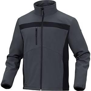 Bluza DELTA PLUS LULEA2, szaro-czarna, rozmiar XXL