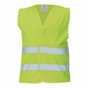 4CARS 91844 HI-VIS SAFETY VEST XL YELLW