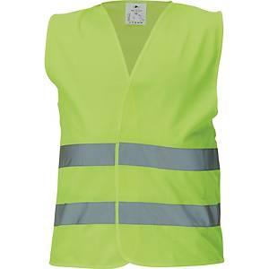 Reflexná vesta CERVA BRUNO, žltá