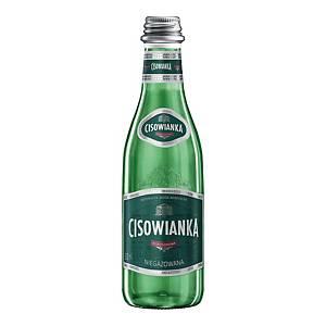 Woda mineralna CISOWIANKA niegazowana, zgrzewka 24 szklane butelki x 300 ml