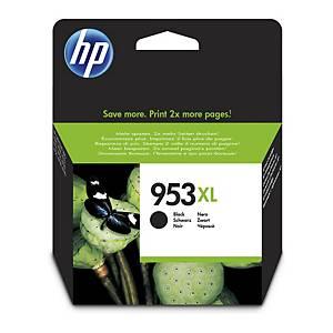 HP 953XL (L0S70AE) inkt cartridge, zwart, hoge capaciteit