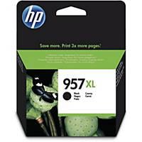 Tintenpatrone HP L0R40AE - 957XL, Reichweite: 3.000 Seiten, schwarz