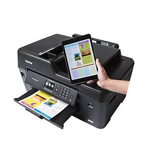 Imprimante jet d'encre couleur Brother MFC-J6530DW 4-en-1, WiFi & LAN, Pays-Bas