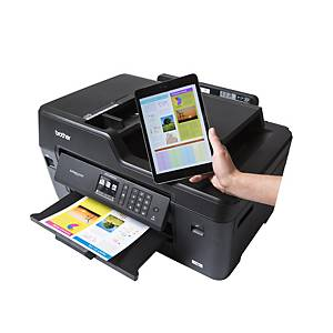 Brother MFC-J6530DW 4-in-1 A3 kleuren inkjet printer, Wifi & LAN, Nederland