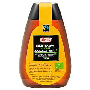 Menu Reilun Kaupan juokseva hunaja luomu 350g