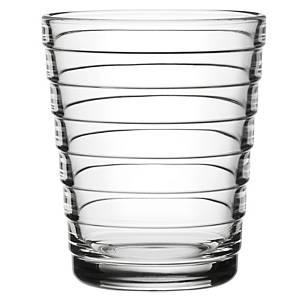 Iittala Aino Aalto juomalasi 22cl kirkas, 1 kpl=2 lasia