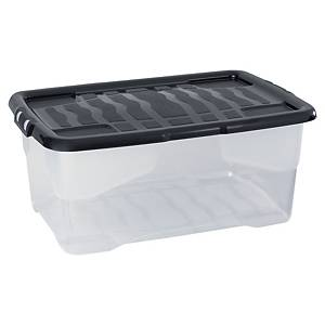 STRATA HW202 STORAGE BOX & LID 42L