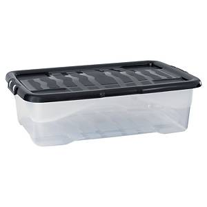 STRATA HW201 STORAGE BOX & LID 30L