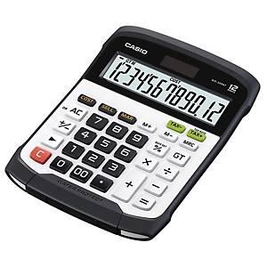 Calculatrice de bureau Casio WD-320MT, affichage de 12chiffres, noir/blanc