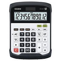 Calculadora de secretária Casio WD-320MT - 12 dígitos - branco/preto