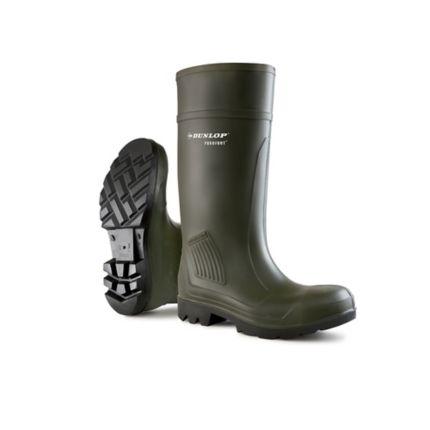 nuovo prodotto 171ee 654fc Stivali di protezione Dunlop Purofort Professional S5 SRA verde tg 41