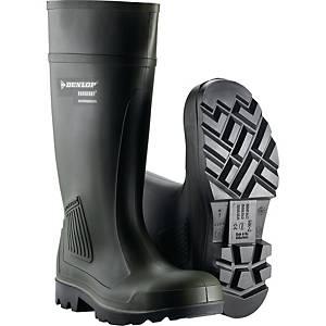 Sikkerhedsgummistøvler Dunlop Purofort professionel, str. 45