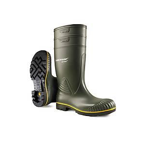 Stivali di protezione Dunlop Acifort Heavy Duty 04 SRA verde tg 41