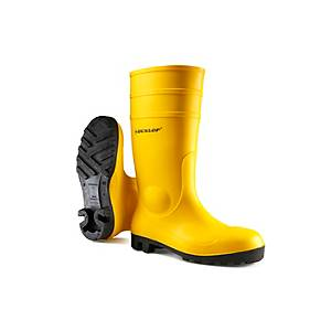 Stivali di protezione Dunlop Protomastor S5 SRA giallo tg 44