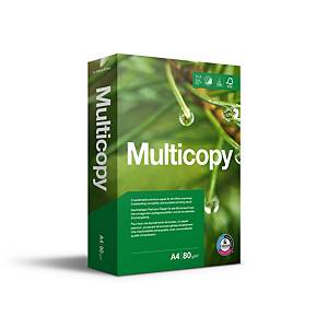 Multifunktionspapir MultiCopy Original, A4, 80 g, kasse a 5 x 500 ark
