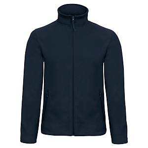 B&C SOFTSHELL JACKET BLUE NAVY M