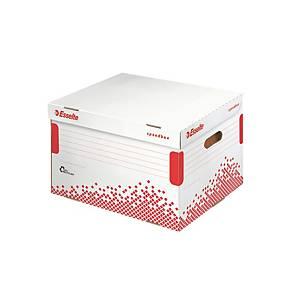 ESSELTE SPEEDBOX Archiváló konténer iratrendezők számára, 15 darab/csomag