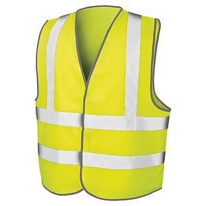Gilet de sécurité haute visibilité Result Motorway - jaune fluo - taille L/XL