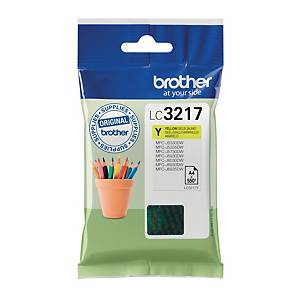 Brother LC3217Y inkt cartridge, geel