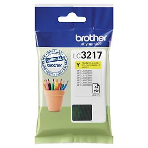 Cartouche d encre Brother LC3217Y - jaune