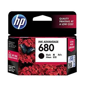 HP ตลับหมึกอิงค์เจ็ท HP680 F6V27AA สีดำ