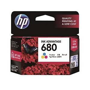 HP680 F6V26AA INK JET CART TRI-COL