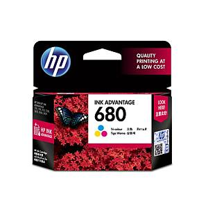 HP 680 F6V26AA ORIGINAL INKJET CARTRIDGE TRI-COLOURS