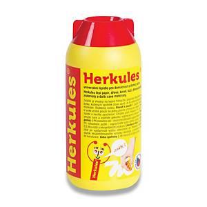 Herkules universaler flüssiger transparenter Kleber 250g Flasche mit Kleberkopf