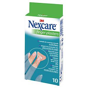 3M Nexcare NFP0001W finger plasters - box of 10