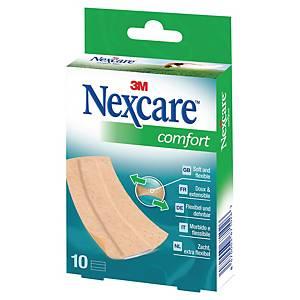 Pansements Nexcare™ Comfort, la boîte de 10 bandes