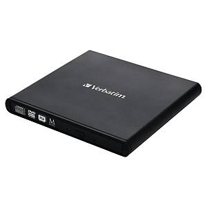 Externí CD/DVD vypalovačka Verbatim Slimline USB 2.0