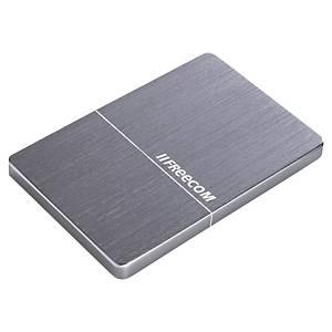 Freecom ulkoinen mobiilikiintolevy 3.0 1Tb hopea