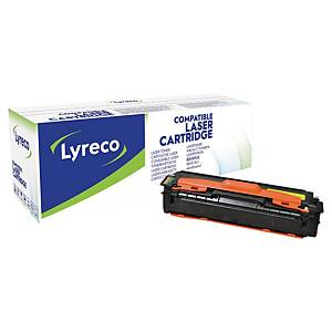 Lyreco cartouche laser compatible Samsung CLT-Y504S jaune [1.800 pages]