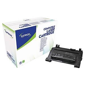 Tóner láser Lyreco compatible para HP 81A - CF281A - negro
