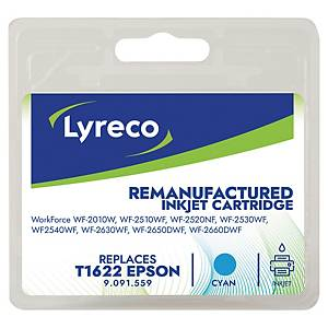LYRECO kompatibilná atramentová kazeta EPSON T162240 (C13T16224012) cyan
