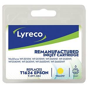 LYRECO kompatibilná atramentová kazeta EPSON T162440 (C13T16244012) žltá