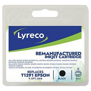Cartucho de tinta LYRECO compatível com EPSON T1291 preto