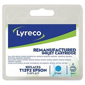 Cartucho de tinta LYRECO compatível com EPSON T1292 cian