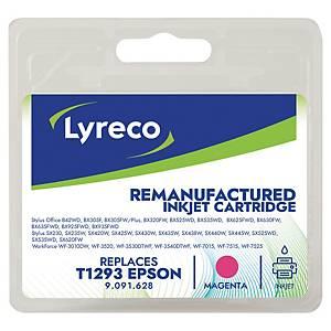 Lyreco remanufactured Epson inkt cartridge T1293, magenta