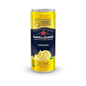 San Pellegrino Limonata 33 cl, pack of 24 cans